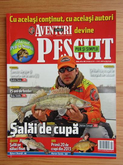 Anticariat: Revista Pur si simplu pescuit, anul XII, nr. 2, iunie 2013