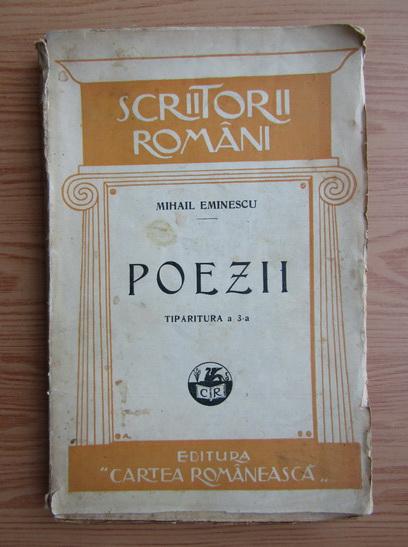 Anticariat: Mihai Eminescu - Poezii (1928)