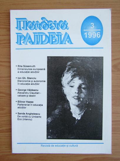 Anticariat: Revista Paideia, nr. 3, 1996