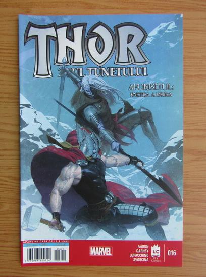 Anticariat: Revista Thor. Zeul tunetului nr. 16, octombrie 2016