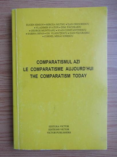Anticariat: Comparatismul azi