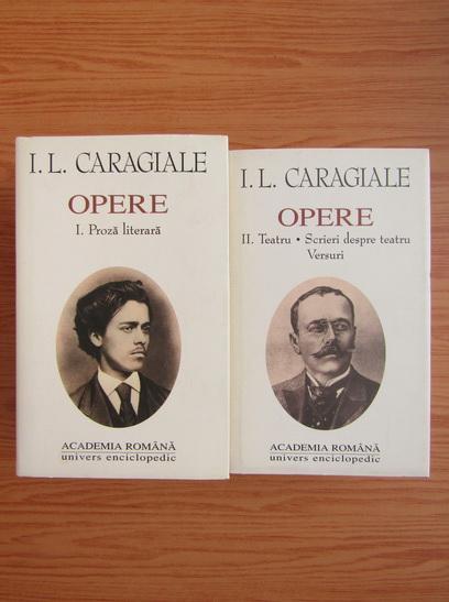 Anticariat: Ion Luca Caragiale - Opere (2 volume)