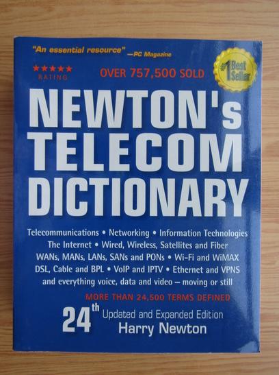 Anticariat: Newton's telecom dictionary