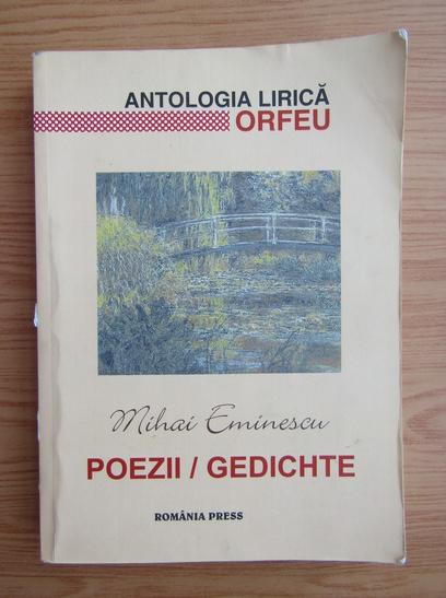 Anticariat: Mihai Eminescu - Poezii. Gedichte (editie bilingva)