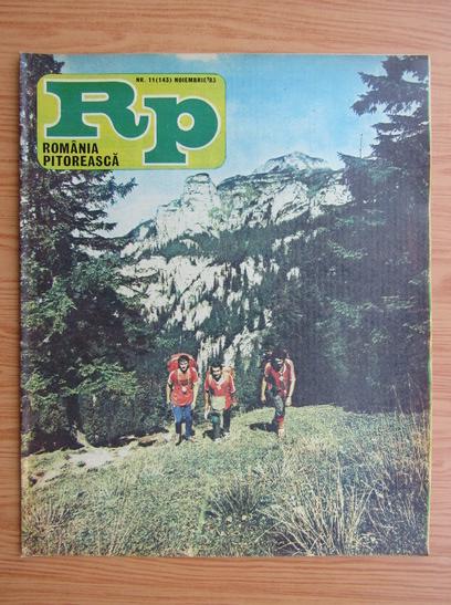 Anticariat: Revista Romania Pitoreasca, nr. 11 (143), noiembrie 1983