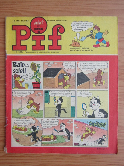 Anticariat: Revista Pif, nr. 1199, 1968