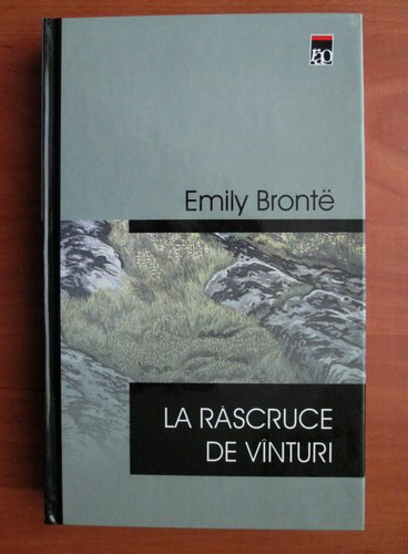 Anticariat: Emily Bronte - La rascruce de vanturi (cartonata, editura Rao)