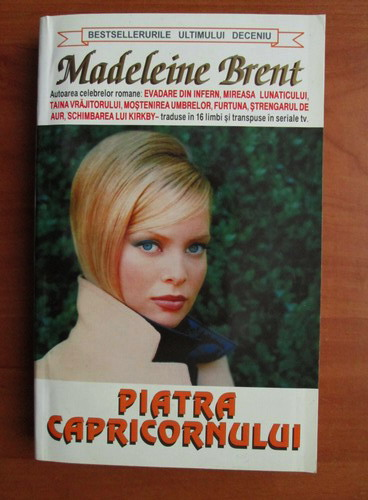 Anticariat: Madeleine Brent - Piatra capricornului