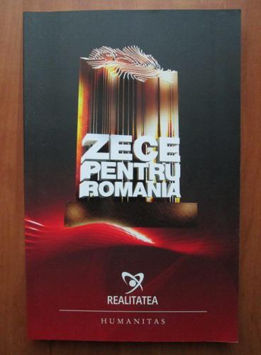 Anticariat: Zece pentru Romania