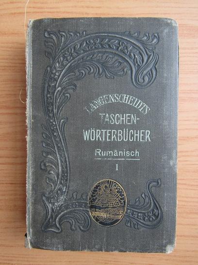 Anticariat: Ghita Pop - Dictionar portativ roman-german (volumul 1, 1911)