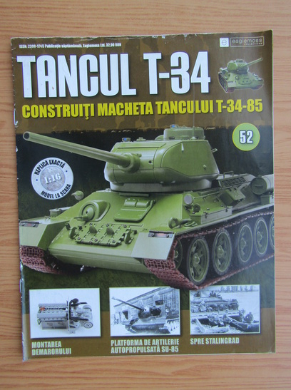 Anticariat: Revista Tancul T-34, nr. 52, 2017