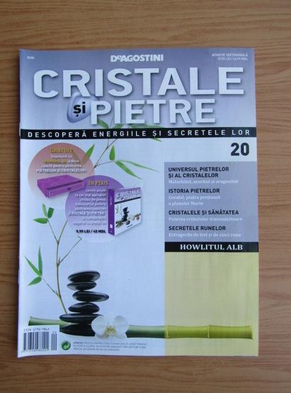 Anticariat: Revista Cristale si Pietre, nr. 20, 2012