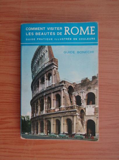 Anticariat: Comment visiter les beautes de Rome