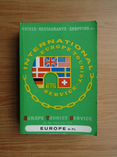 Anticariat: Europe tourist service