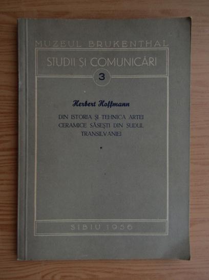 Anticariat: Herbert Hoffmann - Muzeul Brukenthal. Studii si comunicari (volumul 1)