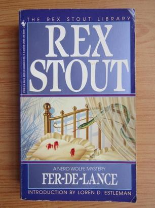Anticariat: Rex Stout - Fer-de-Lance