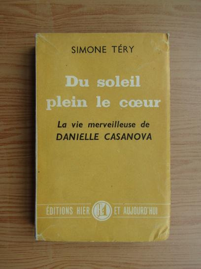 Anticariat: Simone Tery - Du soleil plein le coeur (1949)