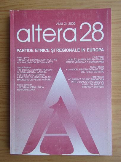 Anticariat: Revista Altera 28, anul XI, 2005