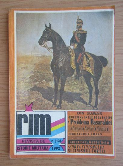 Anticariat: Revista de Istorie Militara, nr. 2, 1992