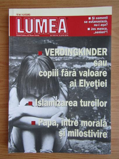 Anticariat: Revista Lumea, an XXII, nr. 6 (279), 2016