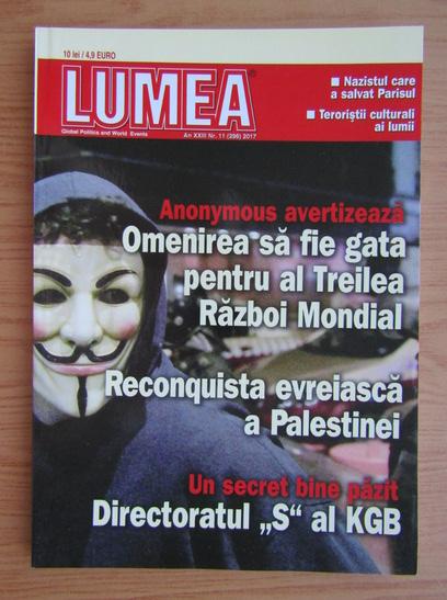 Anticariat: Revista Lumea, an XXIII, nr. 11 (269), 2017