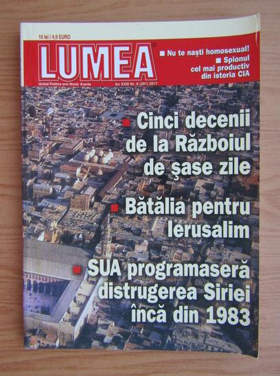 Anticariat: Revista Lumea, an XXIII, nr. 6 (261), 2017