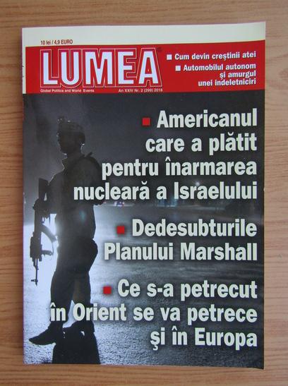 Anticariat: Revista Lumea, an XXIV, nr. 2 (299), 2018