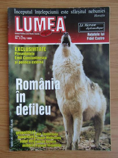 Anticariat: Revista Lumea, anul VII, nr. 2, 1999