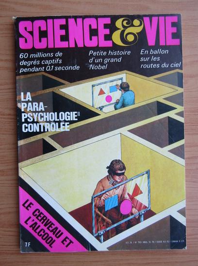 Anticariat: Revista Science et Vie, nr. 733, octombrie 1978