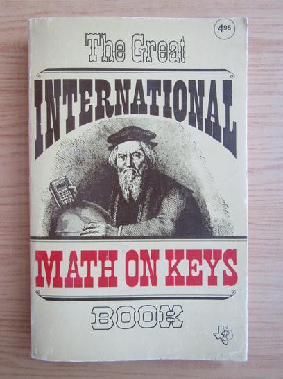 Anticariat: The great international math on keys book