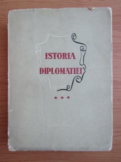 Anticariat: V. M. Hvostov - Istoria diplomatiei (volumul 3, 1948)