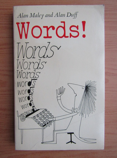 Anticariat: Alan Duff - Words!