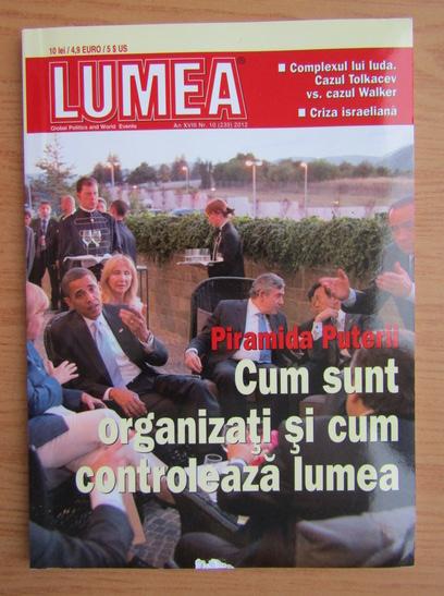Anticariat: Revista Lumea, an XVIII, nr. 10 (235), 2012