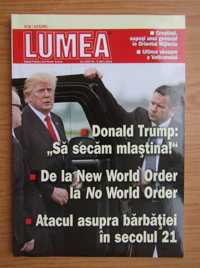 Anticariat: Revista Lumea, an XXIV, nr. 4 (301), 2018