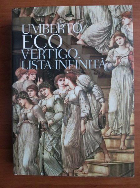 Anticariat: Umberto Eco - Vertigo. Lista infinita