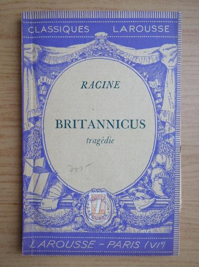 Anticariat: Jean Racine - Britannicus (1940)