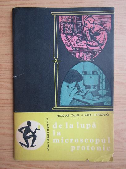 Anticariat: Nicolae Cajal - De la lupa la microscopul protonic