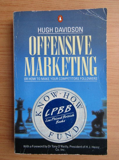 Anticariat: Hugh Davidson - Offensive marketing