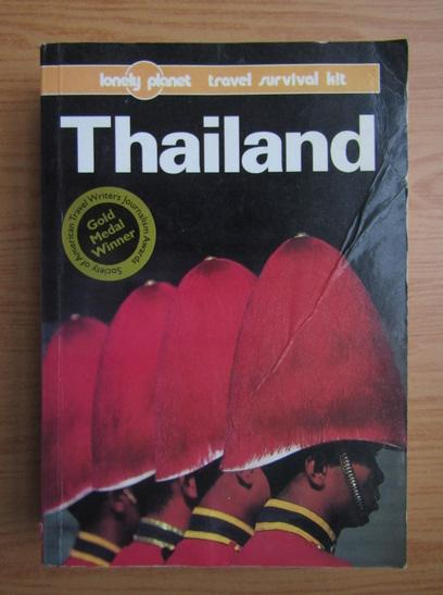 Anticariat: Joe Cummings - Thailand. A Lonely Planet travel survival kit