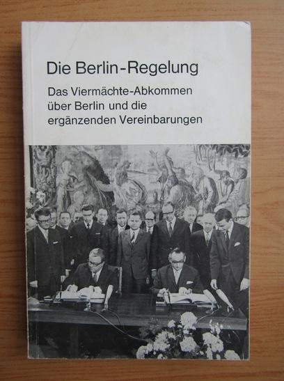Anticariat: Die Berlin Regelung