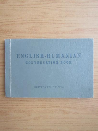 Anticariat: English-rumanian conversation book