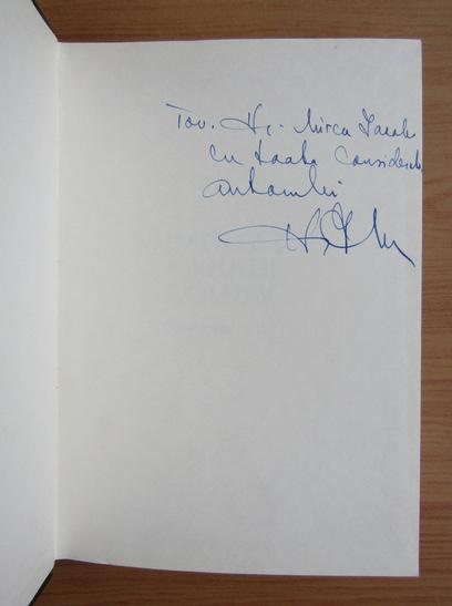 Anticariat: Iulian Mincu - Alimentatia omului bolnav (cu autograful autorului)