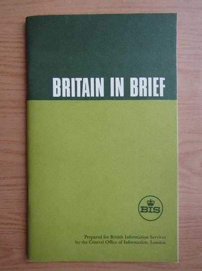 Anticariat: Britain in brief