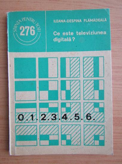 Anticariat: Ileana Despina Plamadeala - Ce este televiziunea digitala?