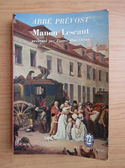 Anticariat: Abbe Prevost - Manon Lescaut