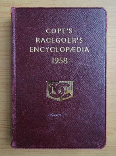 Anticariat: Cope's Racegoer's Encyclopaedia