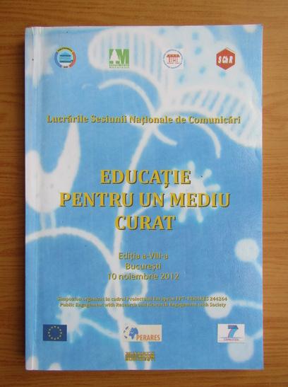 Anticariat: Educatie pentru un mediu curat, 2012