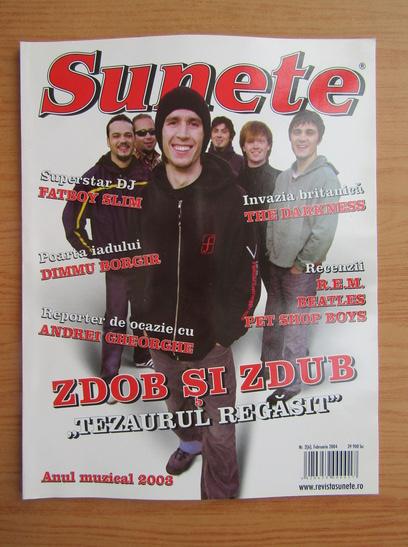 Anticariat: Revista Sunete, nr. 2, februarie 2004