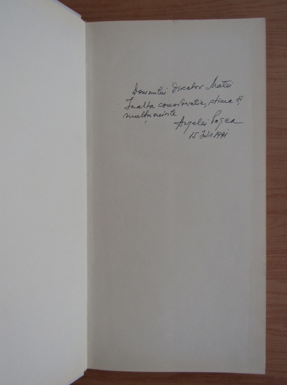Anticariat: Angela Pasca (album de arta cu autograful autorului)