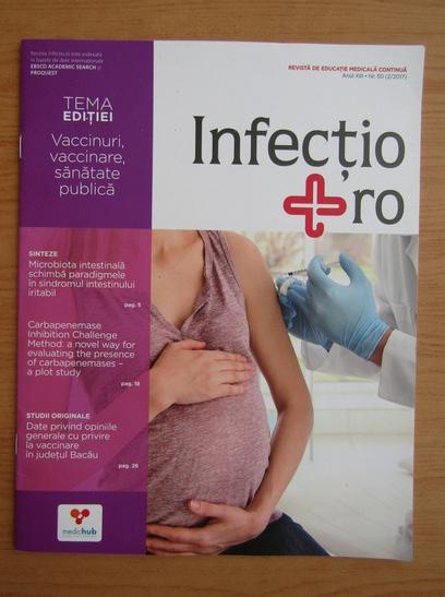 Anticariat: Revista Infectio.ro, anul XIII, nr. 50, 2017